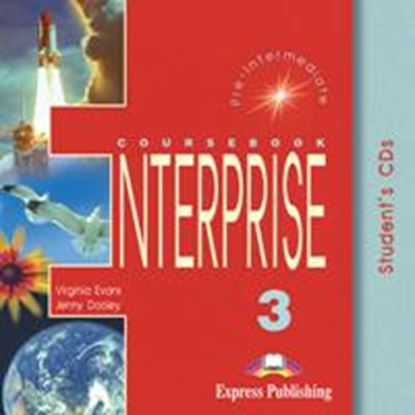 Εικόνα της ENTERPRISE 3 PRE-INTERMEDIATE STUDENT'S CD (SET OF 2)