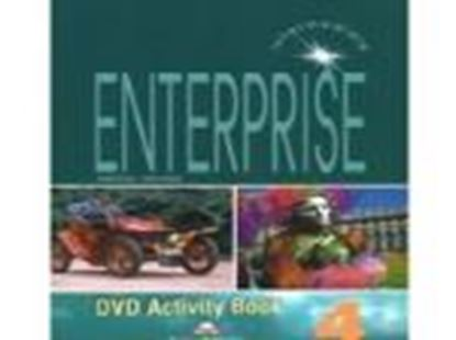 Εικόνα της ENTERPRISE 4 INTERMEDIATE DVD ACTIVITY BOOK