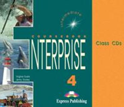 Εικόνα της ENTERPRISE 4 INTERMEDIATE CLASS CDs (SET OF 3)