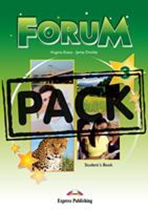 Εικόνα της FORUM 3 STUDENT'S PACK 2 (GREECE) (S'S,COMPANION,WORKBOOK,ieBOOK ) NEW