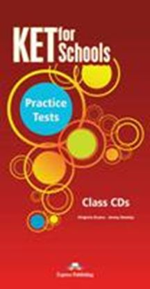 Εικόνα της KET FOR SCHOOLS PRACTICE TESTS CLASS CDS SET OF 5