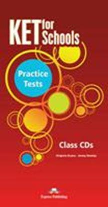 Εικόνα της KET FOR SCHOOLS PRACTICE TESTS CLASS CDS SET OF 5