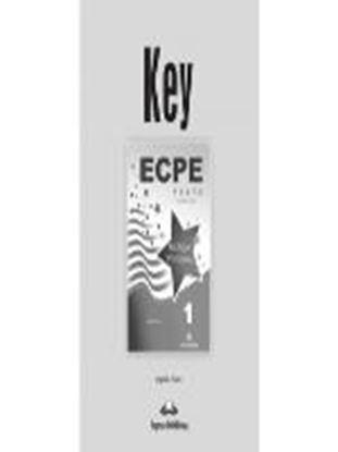 Εικόνα της ECPE 1 TESTS FOR THE MICHIGAN PROFICIENCY KEY (REVISED) NEW