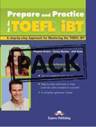 Εικόνα της TOEFL PACK S'S (S'S WITH KEY AT THE BACK OF THE BOOK + CD'S)