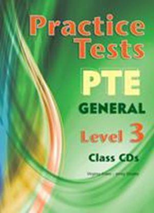 Εικόνα της PRACTICE TESTS PTE GENERAL LEVEL 3 CLASS CDs(SET OF 3) B2