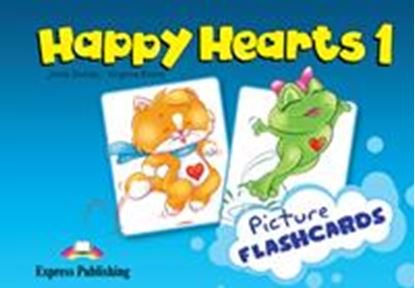 Εικόνα της HAPPY HEARTS 1 FLASHCARDS (INTERNATION