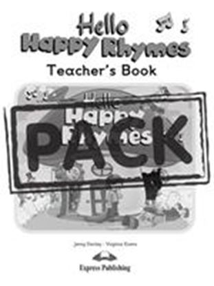 Εικόνα της HELLO HAPPY RHYMES TEACHER'S PACK 1 (DVD PAL) (Pupil's, Teacher' s, CD, DVD)