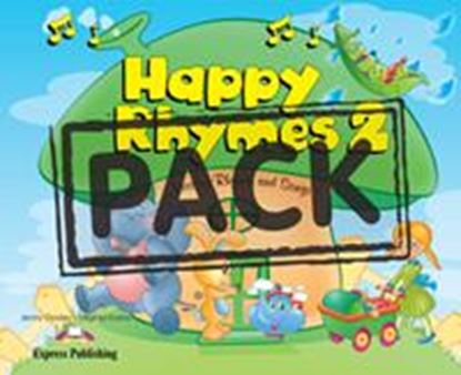 Εικόνα της HAPPY RHYMES 2 PUPIL'S PACK 2 (CD & DVD PAL)