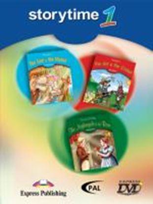 Εικόνα της STORYTIME 1 DVD VIDEO PAL (THE LION &THE MOUSE, THE ANT & THE CR ICKET, THE NIGHTGALE & THE ROSE)