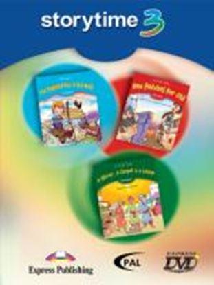 Εικόνα της STORYTIME 3 DVD VIDEO PAL??(THE SHEPHERD BOY & THE WOLF, NEW PAT CHES FOR OLD, ??A MIRROR, A CARPET & Α