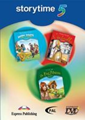 Εικόνα της STORYTIME 5 DVD VIDEO PAL??(SNOW WHITE& THE 7 DWARFS (1), CINDER ELLA (2), THE FROG PRINCES (3)