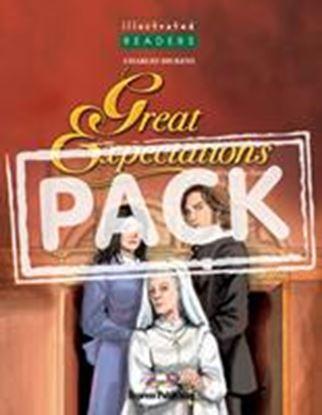 Εικόνα της GREAT EXPECTATIONS ILLUSTRATED WITH CD