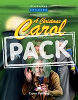Εικόνα της A CHRISTMAS CAROL ILLUSTRATED WITH CD/DVD VIDEO PAL