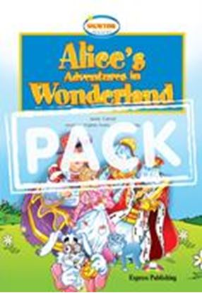 Εικόνα της ALICE'S ADVENTURE IN WONDERLAND SET WITH CD/DVD VIDEO PAL