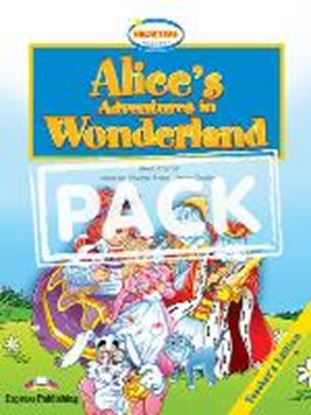 Εικόνα της ALICES ADVENTURE IN WONDERLAND TS PACK (WITH AUDIO CD & DVD PAL)