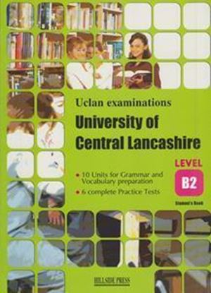 Εικόνα της UNIVERSITY OF CENTRAL LANCASHIRE EXAM PREPARATION LEVEL B2 S/B