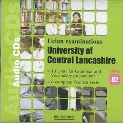 Εικόνα της UNIVERSITY OF CENTRAL LANCASHIRE EXAMPREPARATION LEVEL B2 Audio CDs (set of 2)