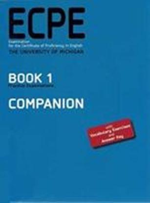 Εικόνα της ECPE BOOK 1 PRACTICE EXAMINATIOS COMPAΝΙΟΝ