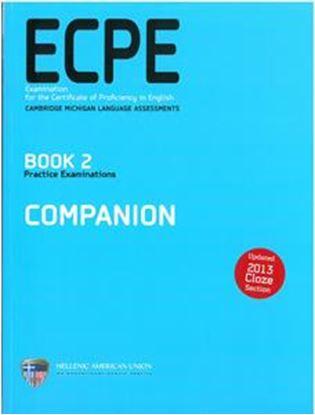 Εικόνα της ECPE BOOK 2 PRACTICE EXAMINATIOS COMPANION