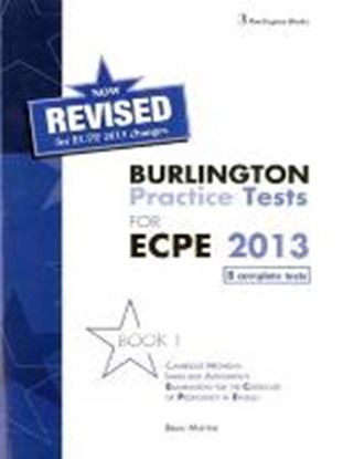 Εικόνα της BURLINGTON PRACT. TESTS MICH. ECPE 1 ΡROFICIENCY SB 2013