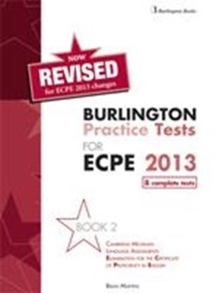 Εικόνα της BURLINGTON PRACT. TESTS MICH. ECPE 2 ΡROFICIENCY SB (8 COMPLETE TESTS)2013 REVISED