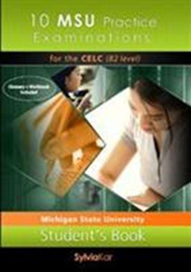 Εικόνα από 10 MSU Practice Examinations for the CELC Book 1 - 5 CDs