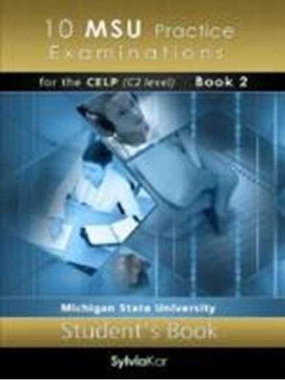 Εικόνα από 10 MSU Practice Examinations for the CELP Book 2 Student's Book 2