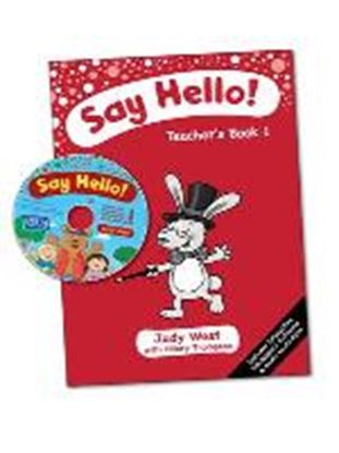 Εικόνα της Say Hello Teacher's Book 1 with CD-ROM