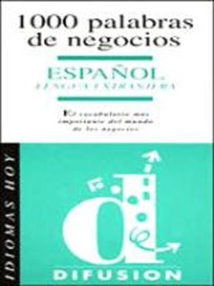 Εικόνα της 1000 PALABRAS DE NEGOCIOS