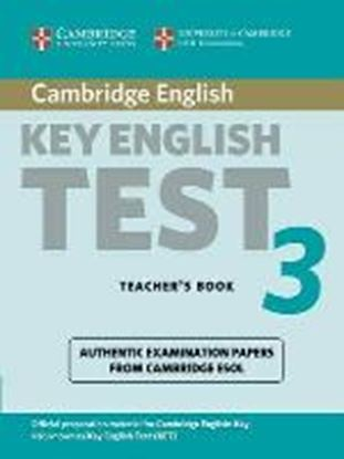 Εικόνα της CAMBRIDGE KEY ENGLISH TEST 3 TCHR'S 2ΝD ED