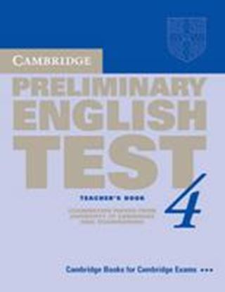 Εικόνα της CAMBRIDGE PRELIMINARY ENGLISH TEST 4 ΤCHR'S