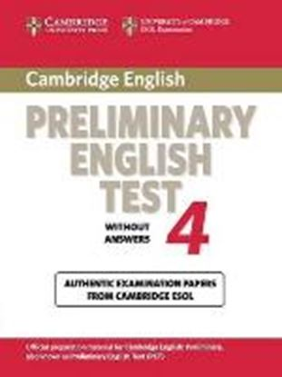 Εικόνα της CAMBRIDGE PRELIMINARY ENGLISH TEST 4 SB