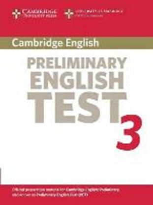 Εικόνα της CAMBRIDGE PRELIMINARY ENGLISH TEST 3 SB