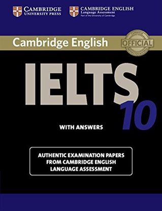Εικόνα της CAMBRIDGE IELTS 10 SB W/AROM)