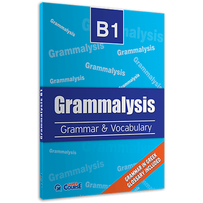 Εικόνα της GRAMMALYSIS B1 GRAMMAR @VOCABULARY