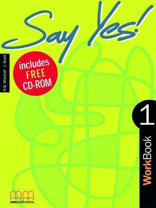 Εικόνα της SAY YES 1 Workbook (with CD)