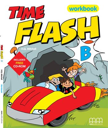 Εικόνα της TIME FLASH B Workbook (with CD)