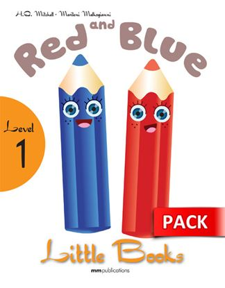 Εικόνα της RED & BLUE Student's Book (with CD)