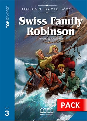 Εικόνα της Swiss Family Robinson - Student's Pack   (Includes Student's Book with Glossary & CD)