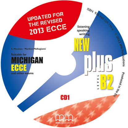 Εικόνα της New Plus Level B2 Ecce Michigan (Re. 20 013) - Class CD