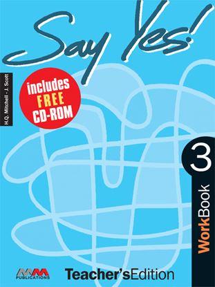 Εικόνα της SAY YES 3 Workbook (Teacher's edition - with CD) CD)
