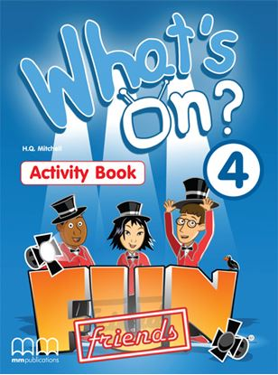 Εικόνα της WHAT'S ON 4 Activity Book