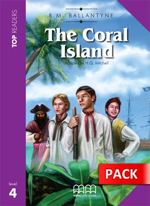 Εικόνα της The Coral Island - Student's Pack (Incl ludes Student's Book with Glossary & CD)