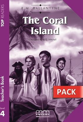 Εικόνα της The Coral Island - Teacher's Pack (Incl ludes Teacher's Book & Student's Book with Glossary)