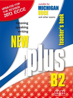 Εικόνα της New Plus Level B2 Ecce Michigan (Re. 2013) - Teacher's Book