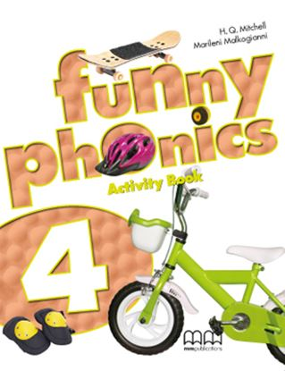 Εικόνα της FUNNY PHONICS 4 Activity Book (with CD)