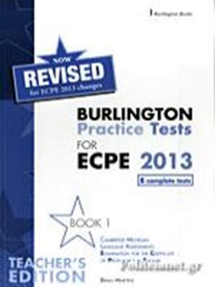 Εικόνα της BURLINGTON PRACT. TESTS MICH. ECPE 1 ΡROFICIENCY TCHRS 2013