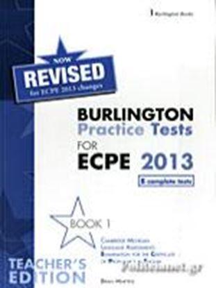 Εικόνα της BURLINGTON PRACT. TESTS MICH. ECPE 1 ΡROFICIENCY TCHRS 2013