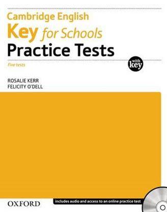 Εικόνα της KEY FOR SCHOOLS PRACTICE TESTS (+ KEY + CD)