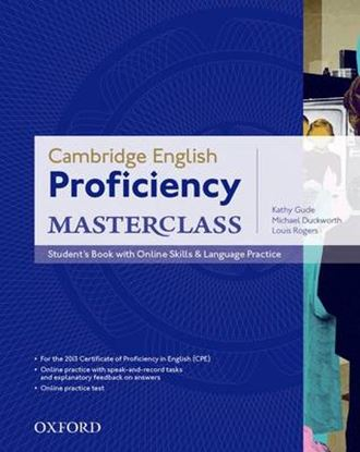 Εικόνα της PROFICIENCY MASTERCLASS & ONLINE PRACTICE PACK SB 2013 EXAM